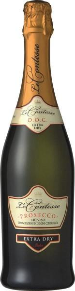 Игристое вино Le Contesse, Prosecco Extra Dry, Treviso DOC