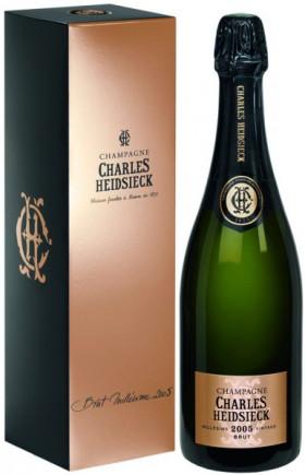Шампанское Charles Heidsieck, Brut Millesime, 2005, gift box