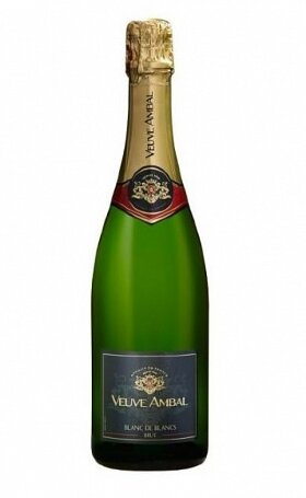 Игристое вино Vev Ambal duk de Bar Blanс de Blanс Brut gift box 0.75л