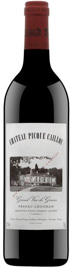 Вино Chateau Picque Caillou, Pessac-Leognan AOC 2007, 1.5 л