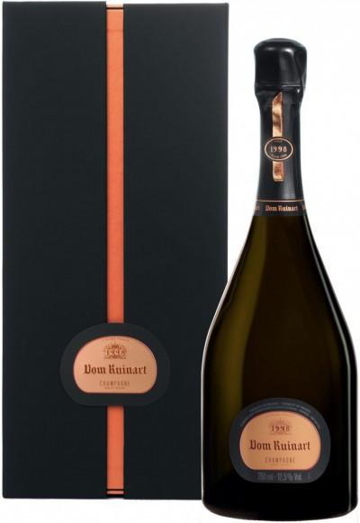 "Шампанское ""Dom Ruinart"" Rose, 1998, gift box"