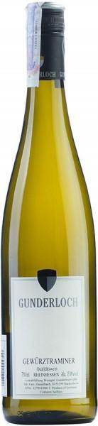 Вино Gunderloch, Gewurztraminer QbA
