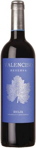 """Вино """"Valenciso"""" Reserva, Rioja DOC, 2008"""
