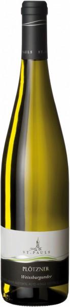 "Вино St. Pauls, ""Plotzner"" Weissburgunder, Alto Adige DOC, 2014"
