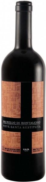 Вино Gaja, Pieve Santa Restituta, Brunello di Montalcino, 2010, 0.375 л