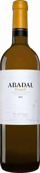"Вино ""Abadal"" Picapoll, Pla de Bages DO, 2013"