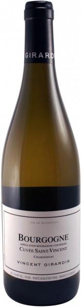 "Вино Vincent Girardin, Bourgogne Chardonnay ""Cuvee Saint-Vincent"", 2014"