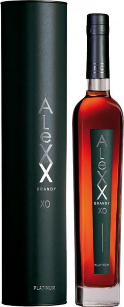 "Коньяк Tavria, ""Alexx"" Platinum XO, in tube, 0.375 л"