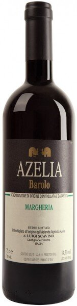 """Вино Azelia, """"Margheria"""" Barolo DOCG, 2012"""