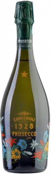 Игристое вино Cavicchioli, Prosecco DOC Brut