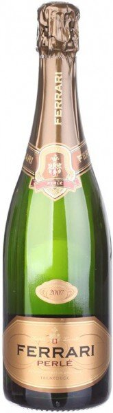"Игристое вино Ferrari, ""Perle"" Brut, 2007, Trento DOC"