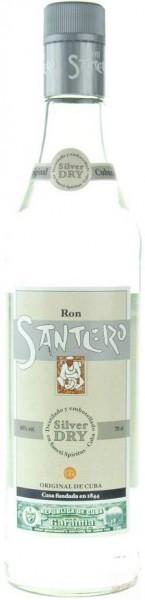 """Ром """"Santero"""" Silver Dry, 1 л"""