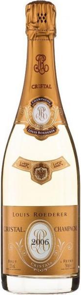 """Шампанское """"Cristal"""" AOC, 2006"""