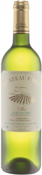 """Вино """"Chateau Piron"""" Blanc, 2014"""