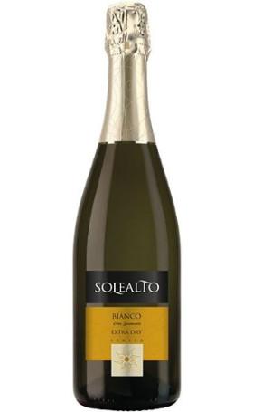 Игристое вино Contarini Solealto Bianco Spumante Extra Dry 0.75л