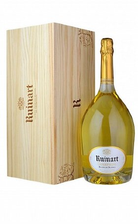 Шампанское Ruinart Blanc de Blancs wooden box 1.5л