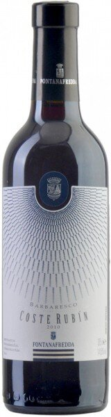 "Вино Fontanafredda, ""Coste Rubin"", Barbaresco DOCG, 2010, 0.375 л"