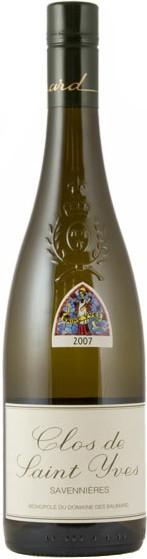 """Вино Domaine des Baumard, """"Clos Saint Yves"""", Savennieres AOC, 2007"""