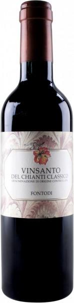 Вино Fontodi, Vin Santo, Chianti Classico DOCG, 2005, 0.375 л
