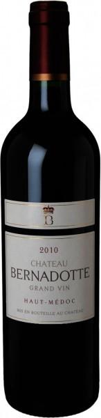 Вино Chateau Bernadotte AOC Cru Bourgeois, 2010