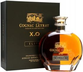 """Коньяк """"Leyrat"""" XO Elite, decanter in gift box, 0.7 л"""