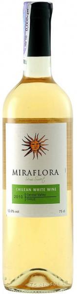 "Вино ""Miraflora"" White, Central Valley DO"