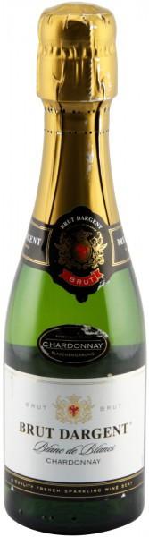 """Игристое вино """"Brut Dargent"""" Blanc de Blanc Chardonnay, 2011, 0.375 л"""