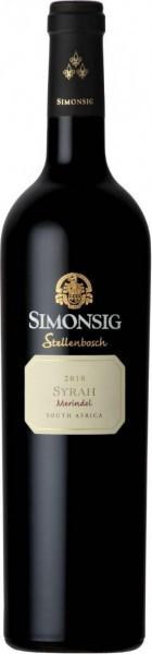 """Вино Simonsig, """"Merindol"""" Syrah, 2010"""