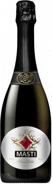 "Игристое вино ""Masti"" Semi-Dolce, White Label"