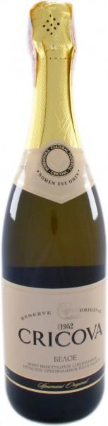 """Игристое вино Cricova, """"Spumant Original"""" White Semi-Sweet"""
