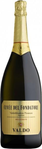"Игристое вино Valdo, ""Cuvee del Fondatore"", Prosecco di Valdobbiadene DOCG, 3 л"