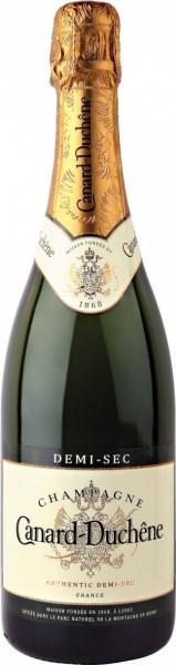 """Шампанское Canard-Duchene, """"Authentic"""" Demi-Sec, Champagne AOC"""