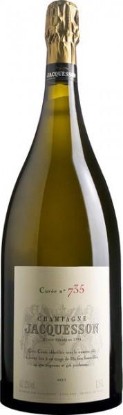 "Шампанское Jacquesson, ""Cuvee № 735"" Brut, 1.5 л"