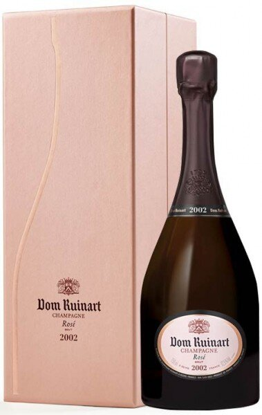 "Шампанское ""Dom Ruinart"" Rose, 2002, in gift box"