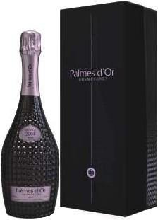 "Шампанское Nicolas Feuillatte, ""Palmes D'Or"" Brut Rose, 2004, gift box"