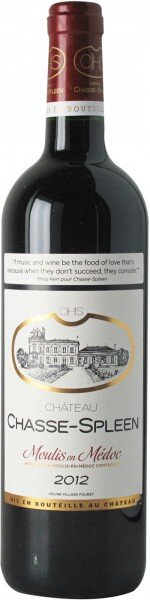 Вино Chateau Chasse-Spleen, Moulis en Medoc AOC Cru Bourgeois, 2014
