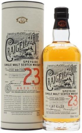 "Виски ""Craigellachie"" 23 Years Old, in tube, 0.7 л"