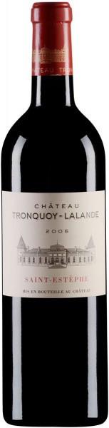 Вино Chateau Tronquoy-Lalande, Saint-Estephe AOC, 2006