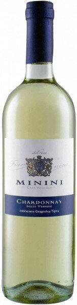 Вино Minini, Chardonnay, Venezie IGT, 2014, 0.375 л