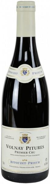 """Вино Domaine Bitouzet-Prieur, Volnay Premier Cru """"Pitures"""" AOC, 2013"""