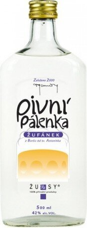 Бренди Pivni palenka Zufanek, 0.5 л
