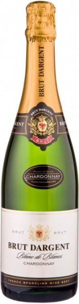 """Игристое вино """"Brut Dargent"""" Blanc de Blanc Chardonnay, 2012"""