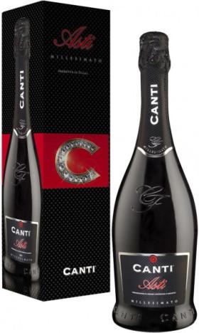 Игристое вино Canti, Asti DOCG, 2013, gift box