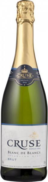 Игристое вино Cruse, Blanc de Blancs Brut