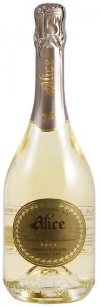 Игристое вино Le Vigne di Alice, Prosecco Superiore Extra Dry Conegliano Valdobbiadene DOCG, 2013