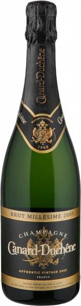 "Шампанское Canard-Duchene, ""Authentic"" Vintage Brut, Champagne AOC, 2005"