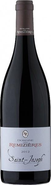 Вино Domaine des Remizieres, Saint Joseph AOC Rouge, 2012