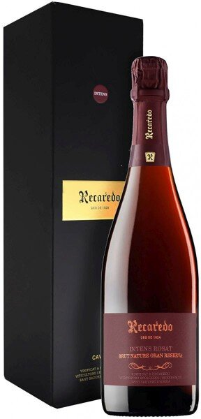 Игристое вино Recaredo, Intens Rosat Brut Nature Gran Reserva, Cava DO, 2012, gift box