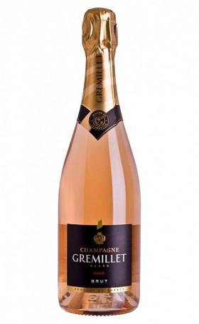 Шампанское Champagne Gremillet Rose 0.75л