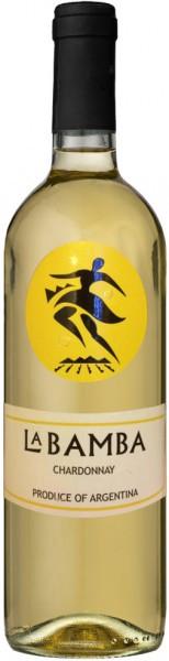 """Вино """"La Bamba"""" Chardonnay, 2014"""